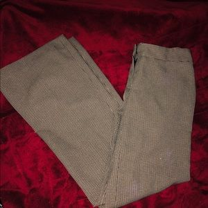 Nine West The Modern Fit hounds tooth pants size 4